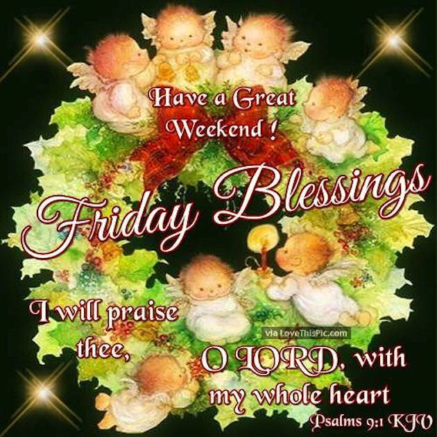 Friday Christmas Quotes: 276 Best Images About Friday Blessings On Pinterest