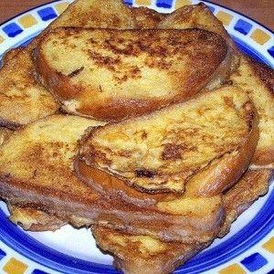 Французские гренки к завтраку