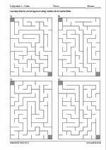100x4 labyrinter - 10x14