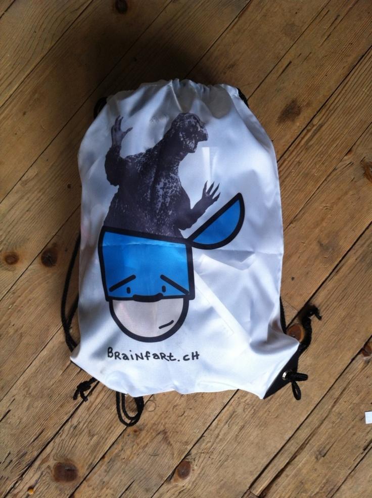 Nuub Godzilla Bag by Brainfart