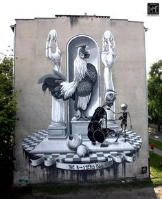 Dome ...New Mural In Warsaw, Poland