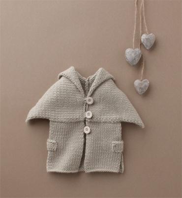Modèle gilet cape bébé - Modèles tricot layette - Phildar