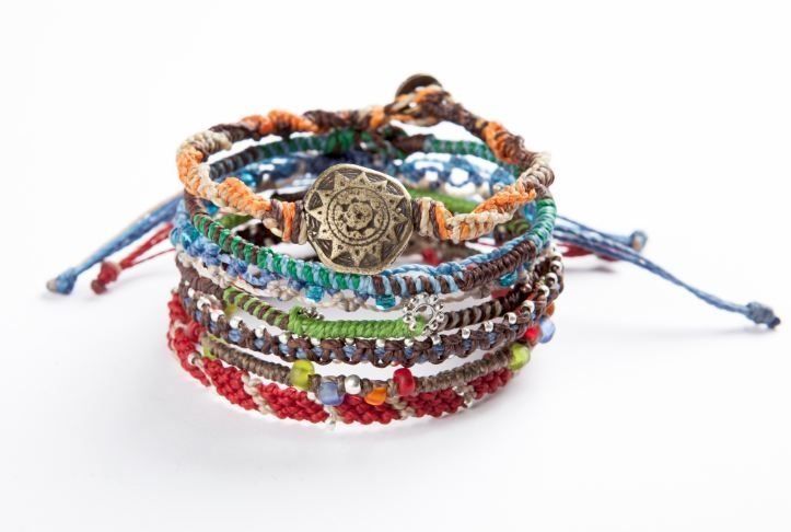 #Wakami Earth Bracelet: 7-Strand Multi from #Guatemala. #FairTrade