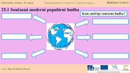 25.1 Současná moderní populární hudba Elektronická učebnice - II. stupeň…