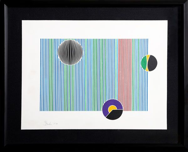 106 best optical art images on pinterest pencil op art and artist gisela beker germanamerican title bauhaus year 1974 medium acrylic on paper signed in pencil size 18 x 24 in x cm frame size x inches sciox Gallery