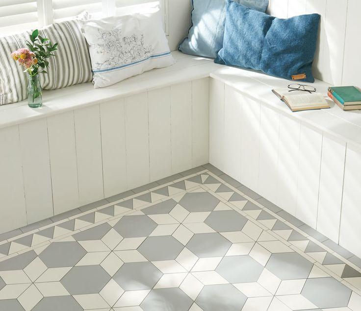 Victorian Floor Tiles - Carlisle Pattern