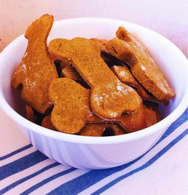Recipe: Healthy Peanut Butter and Pumpkin Dog Treats | The Pet Anthology | Pet Lifestyle for the Modern Pet Owner