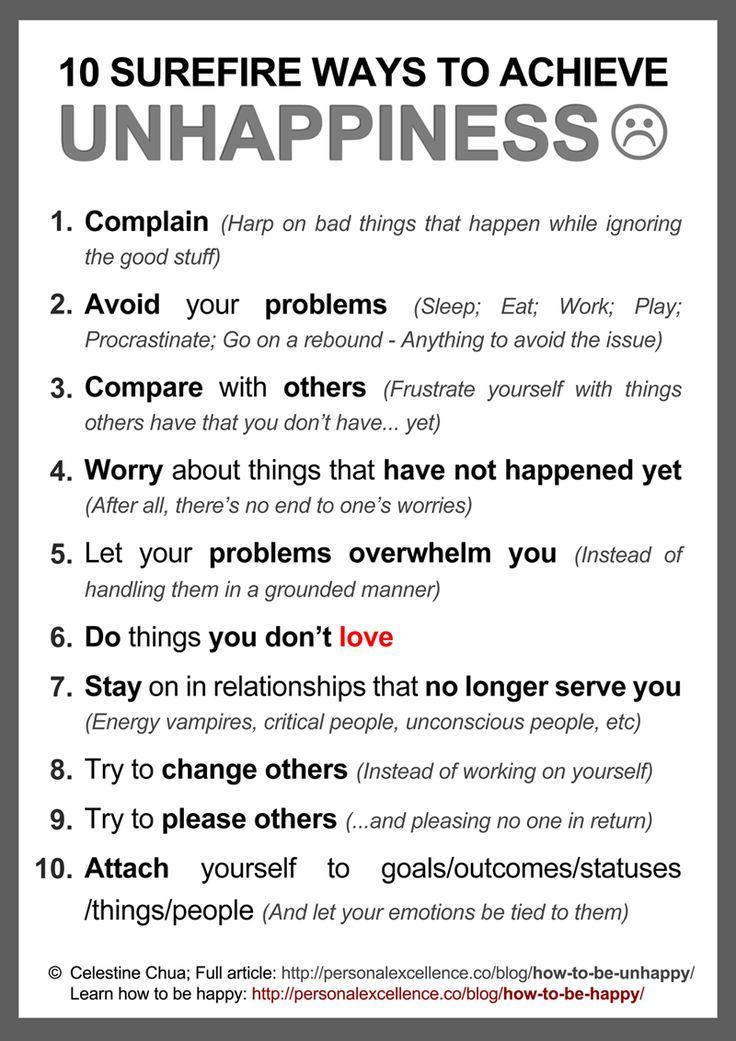 unhappier or more unhappy relationship