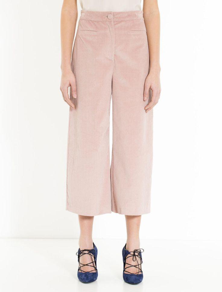 Max&Co.  Pantaloni wide fit di velluto a coste