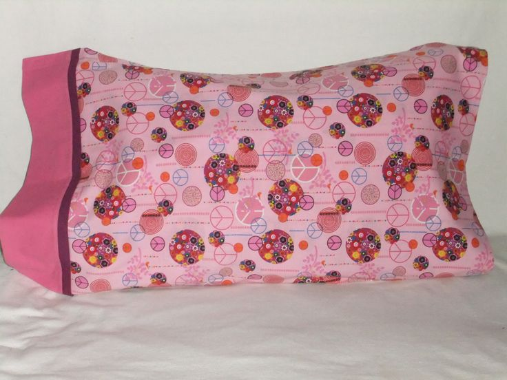 """PEACE #5 PILLOWCASE - 20"""" x 34"""" by KatiesCOVERS on Etsy"""