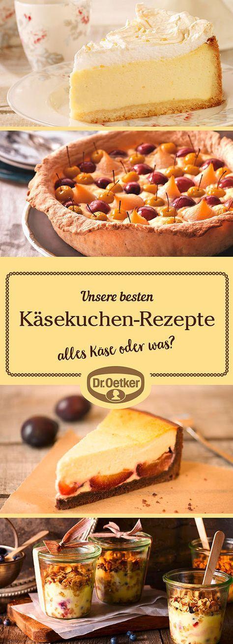 Lassen Sie sich von der großen Auswahl an Käsekuchen-Rezepten, die von der Dr. Oetker Versuchsküche entwickelt wurden, inspirieren.