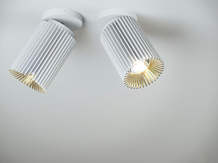 COOLFIN MOVE DARK / design / lighting / darling / colors white-gold / architectural lighting #DARK
