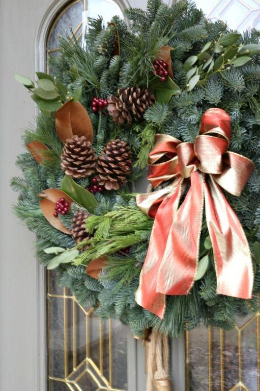 1000 Ideas About Magnolia Wreath On Pinterest Cotton