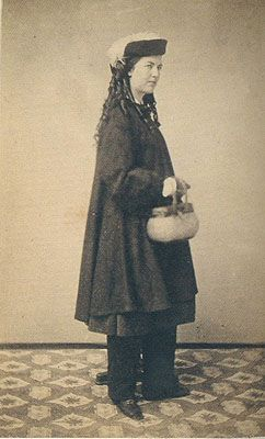 The Original Bloomer Girls.  Katy Johnson, c. 1864-1865; photo from Catherine Smith, co-author of Women in Pants