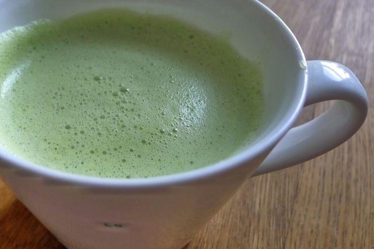 I matcha try this--Matcha Green Tea Almond Latte - Natural Kitchen Adventures