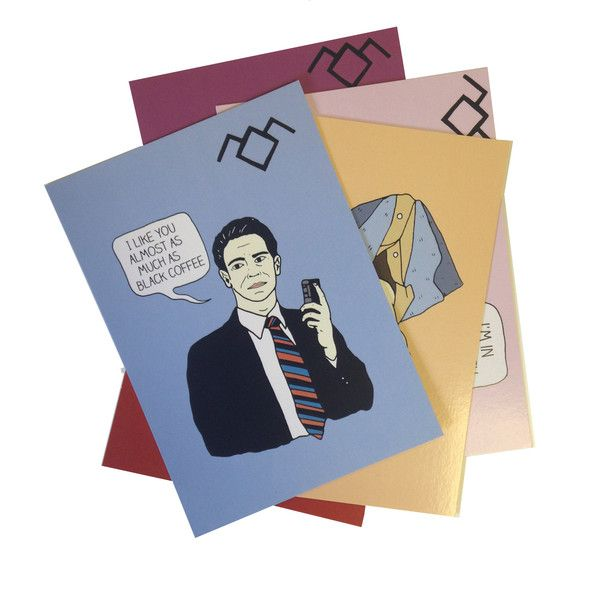 Send your friends a fabby Twin Peaks inspired postcard this Summer instead of a lame picture of a donkey with a sombrero on. 5 x A6 full colour glossy postcards Made in the UK by Black Lodge Press