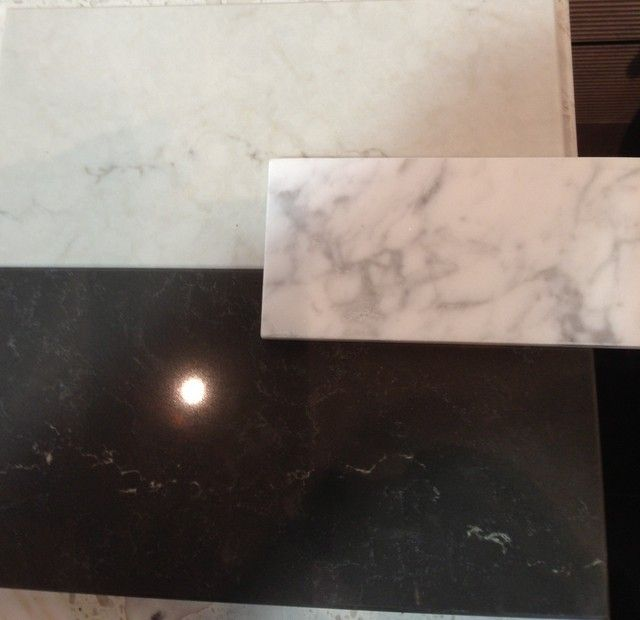 Gardenweb Kitchen Forum: New Caesarstone London Gray With Piatra Grey And Real