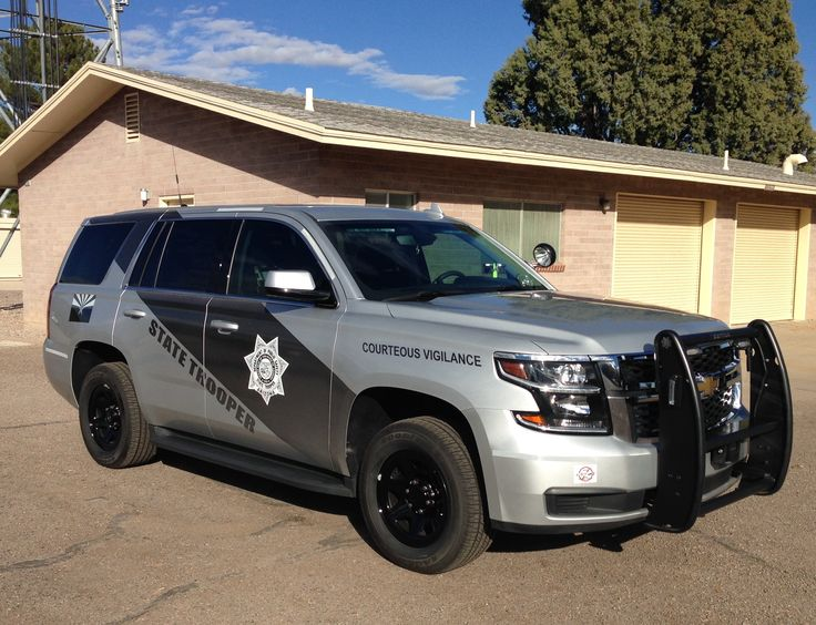 Arizona Dept. Of Public Safety State Trooper Chevy Tahoe Slicktop