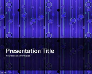 Elegant Pattern PowerPoint Template is a blue theme for PowerPoint presentations…