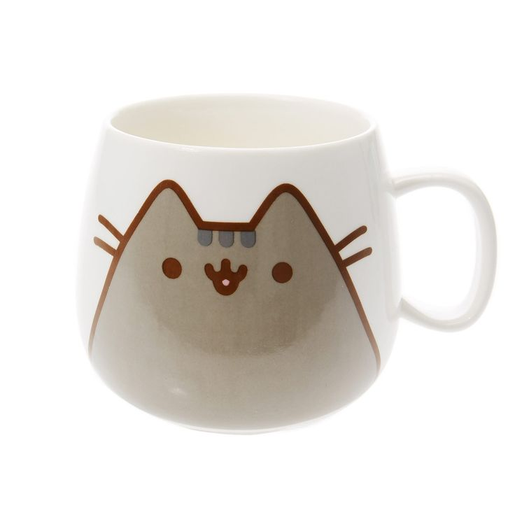 Claire's Girls and Womens Pusheen Cat Mug in White: Amazon.co.uk: Kitchen & Home