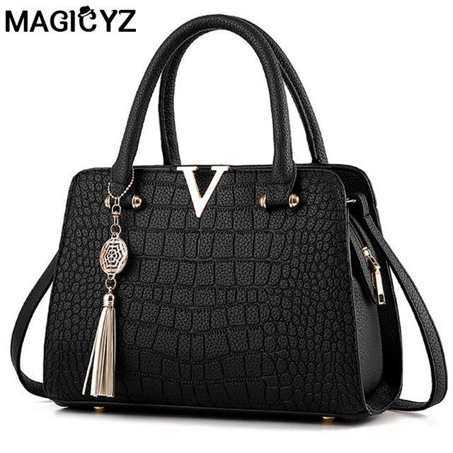 <b>Luxury</b> Crocodile <b>leather</b> women <b>handbags Famous brands</b> ...