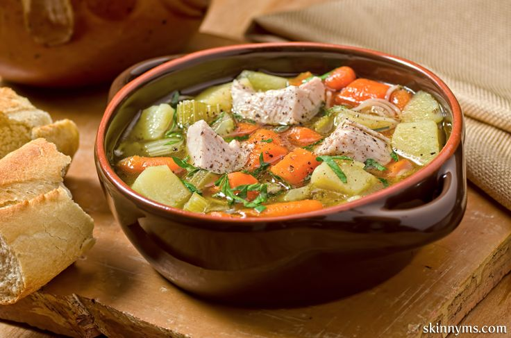 Slow Cooker Turkey Stew is a delicious way to use up those turkey ...
