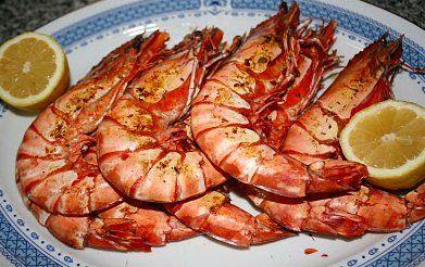 Receita de Camarão Grelhado com Malagueta - http://www.receitasja.com/receita-de-camarao-grelhado-com-molho-picante/