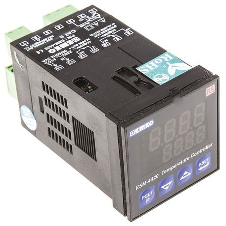 Buy RS Pro RS Pro PID Temperature Controller, 48 x 48mm, 3 Output Relay, 230 V ac Supply Voltage