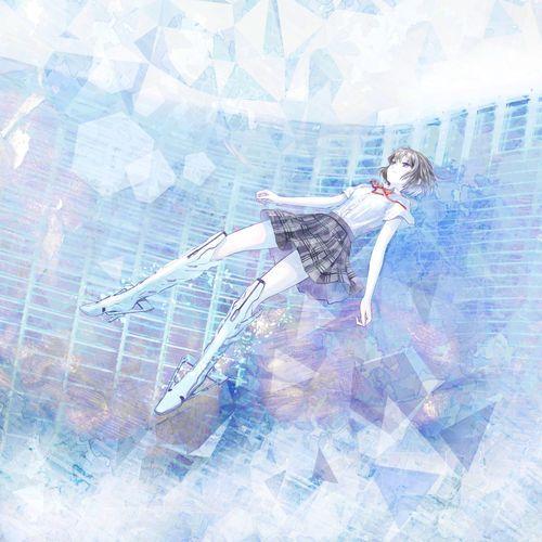 イラスト:アラキマリ 国立新美術館「ニッポンのマンガ*アニメ*ゲーム」ポスター