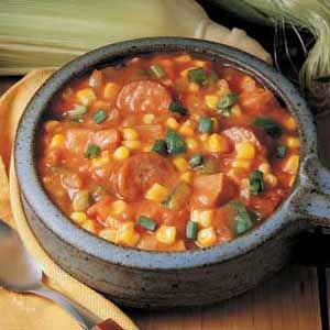 I've tried this one, and it is yummy!  Add Rotel and a can of tomato soup to spice it up!