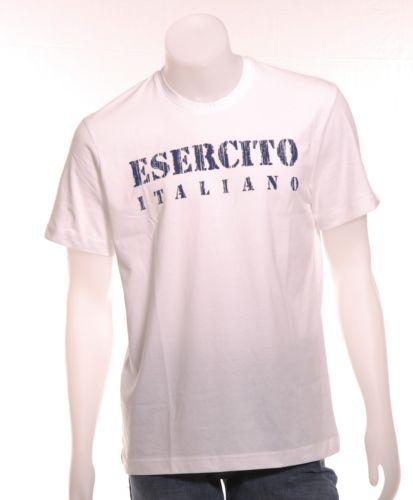 SALDI MAGLIETTA T-SHIRT ESERCITO ITALIANO ORIGINALE MANICA CORTA MAGLIA SPORTIVA | eBay