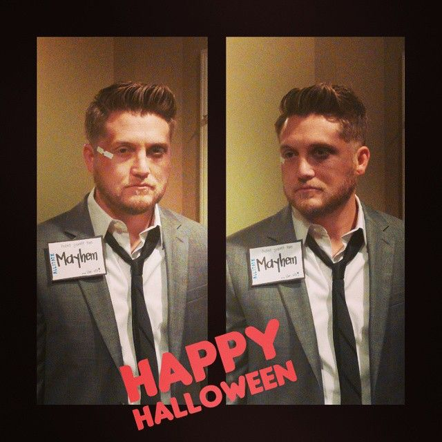 Pin for Later: 59 Halloween Costumes Inspired by Your Favorite Things Mayhem, Allstate Insurance