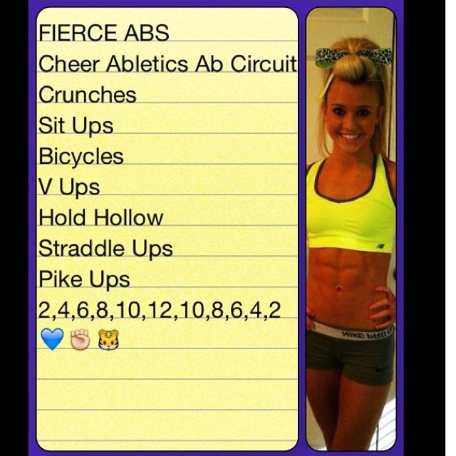 Do this work out every other day. Its hard but you'll get results. Seriously! Signature workout
