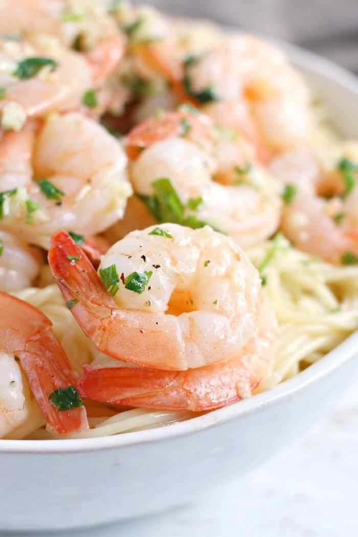 SHRIMP SCAMPI – Buttery garlicky Shrimp scampi is a quick and easy recipe that t…