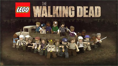 The Walking Dead Show & Game Lego crossover
