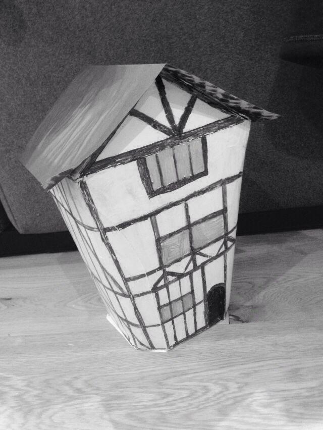 Tudor house, history homework