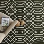 Geometric Rug option - various colours available  16ocm x 230cm rrp $1450 + freight,  190cm x 290cm rrp $1870 + freight