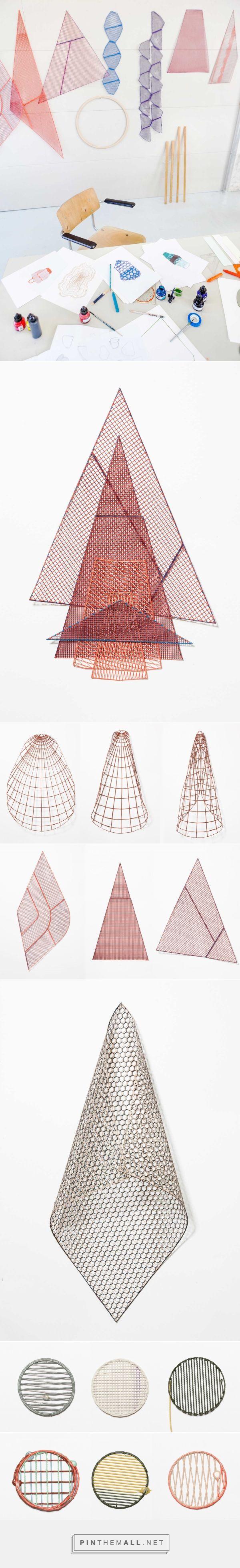 One Yarn Of Plastic: Digitally Printed Patterns by Studio Plott