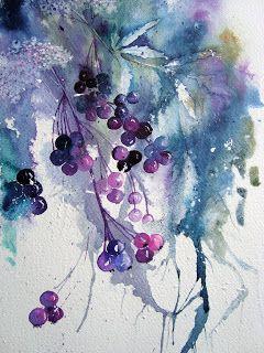 Aquarell Blumen: Mehr Daniel Smith Farben