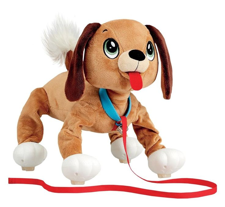 """Peppy Pups MUTT 8"""" Bouncy Walking Action Plush Interactive Puppy Dog Peppy Pets #PeppyPups"""