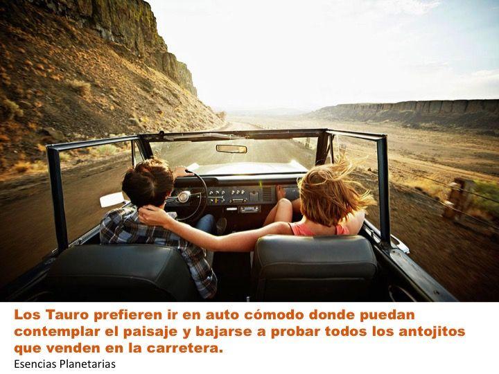 #Tauro #Horoscopo #zodiaco #Astrologia #signos #vacaciones #viajar #auto #carretera #disfrutar #placer