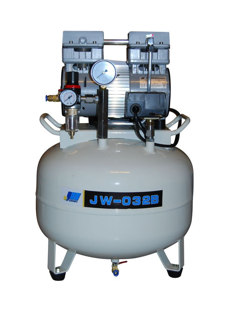 Compresor JunWei 1.10hp  JW-032B      1.10HP 850W    Flujo aire: 100L xMin.               MaxPresion 0.8Mpa   Presion Arranque 0.5Mpa   1400RPM  Tanque: 45L vertical  Caracteristicas: Motor con cableado de cobre de alta calidad y larga vida de servicio  Valvula solenoide con cuerpo metalico  Cilindros de maquinado preciso con aros de material plastico importado de Europa de mayor vida util Cod. 8777