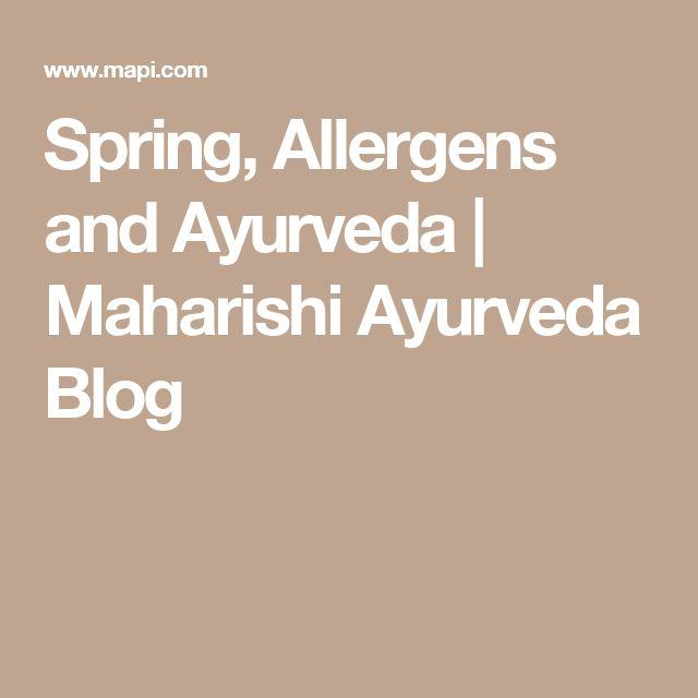Spring, Allergens and Ayurveda | Maharishi Ayurveda Blog