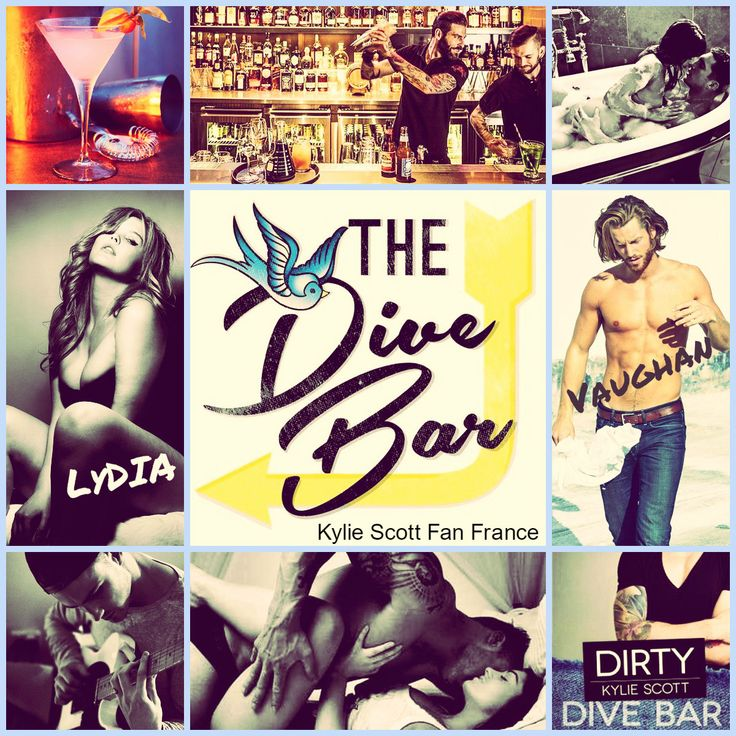 Dive Bar series by Kylie Scott #Dirty #KylieScott #KylieScottFanFrance