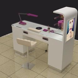 Source modern white manicure nail desk / nail table sale cheap HB-B55 on m.alibaba.com