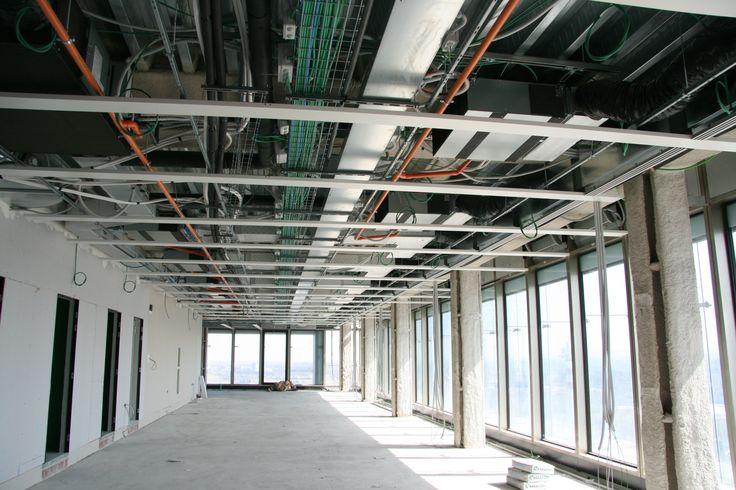Hvac System Ceiling Hvac Electrical Wiring Pinterest