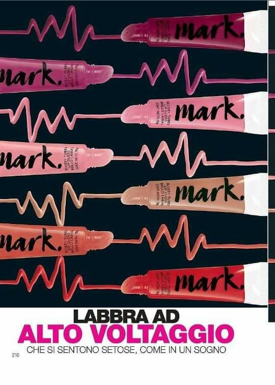 Per labbra setose il nostro lip gloss Avon mark 😃 tanto colori estivi tutti da provare 😍😍😍