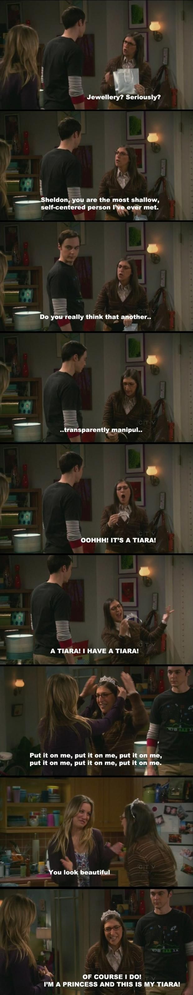 I don't watch the big bang theory but this is awesome. Guilty for having done this once or twice :)