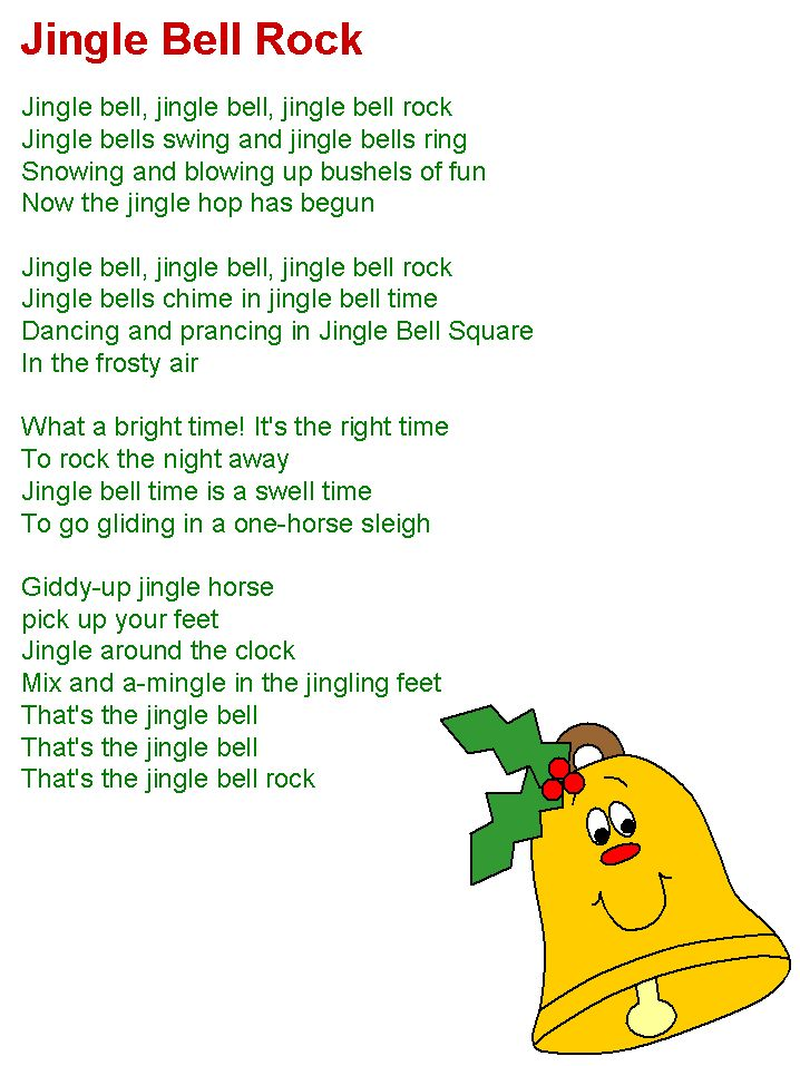 Text Von Jingle Bells Englisch