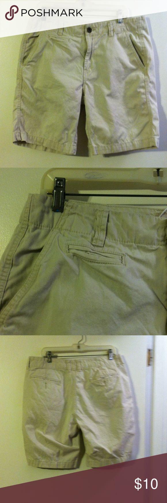 Arizona Jean co men's khaki shorts Cotton. Arizona Jean Company Shorts Flat Front